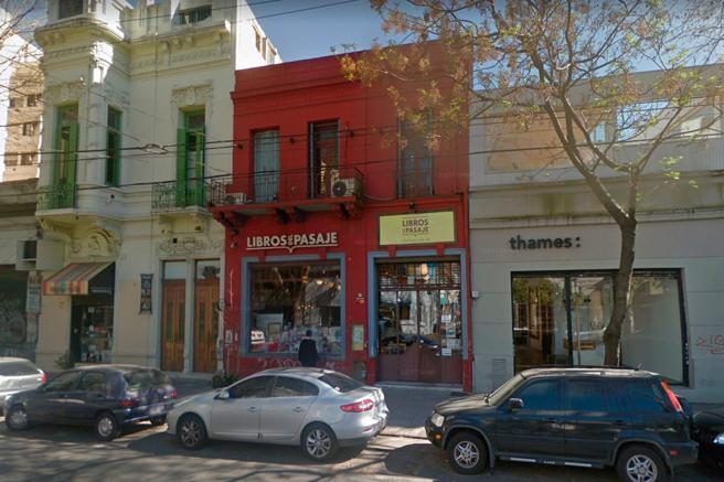 La librería Libros de Pasajes en Buenos Aires