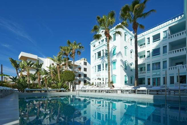 Vista general del hotel que ha adquirido MiM