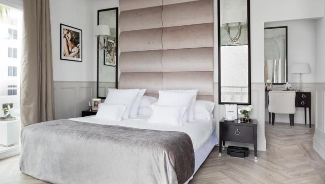 Una de las 52 habitaciones del MiM Ibiza