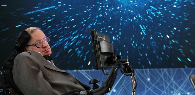 Hawking, en una imagen de archivo, en 2016