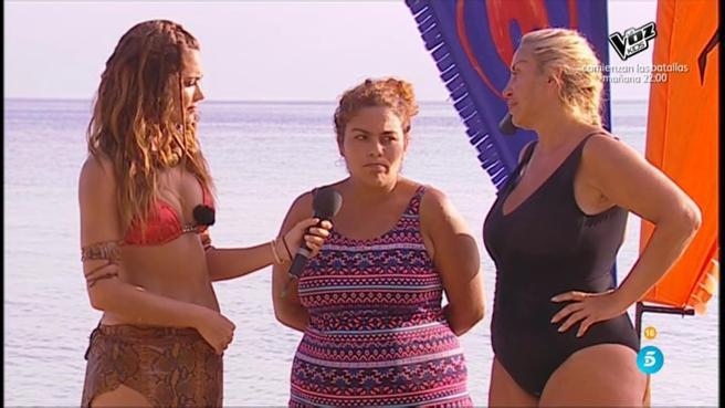 Saray comunica la decisión de su abandono en 'Supervivientes 2018'