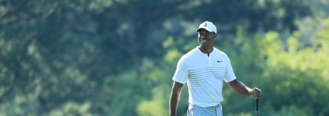 Tiger Woods, en Augusta