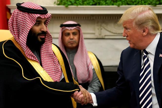 El encuentro de Trump con el príncipe heredero saudí
