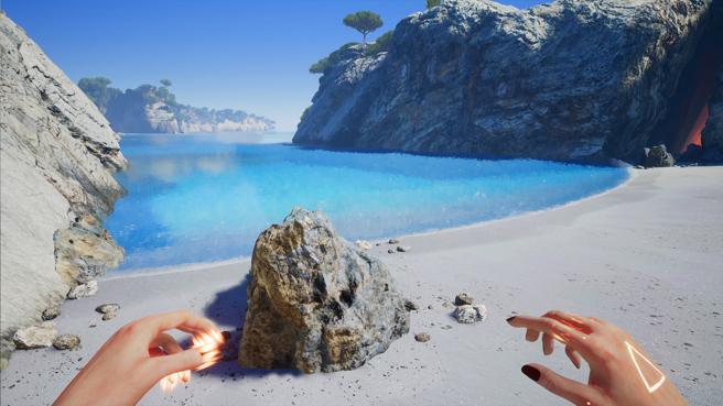 La cala de la Macarelleta de Menorca ha sido recreada en el juego