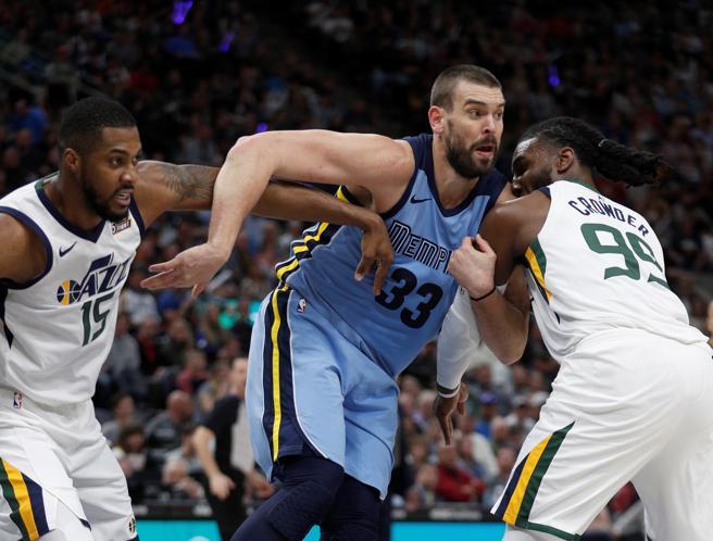 Los Grizzlies de Marc Gasol intentarán dar la sorpresa ante los Pelicans de Mirotic.