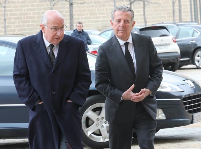 Josep Caminal y Javier Godó, conde de Godó