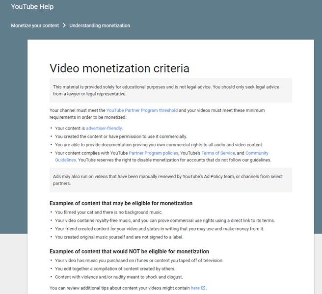 Los criterios de monetización de YouTube han cambiado, las nuevas normas afectan a los canales con menos audiencia