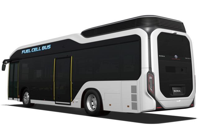 Toyota quiere poner 100 autobuses en marcha en Tokio para 2020
