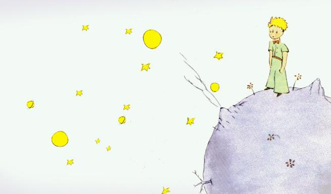 Ilustración de portada del libro 'El Principito'