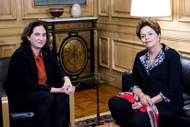 La expresidenta Rousseff fue destituida a través de un proceso de impeachment político con el que también se ha encarcelado al expresidente Luiz Inácio Lula da Silva
