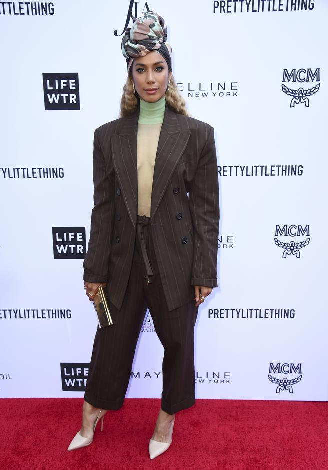 Leona Lewis en los Daily Front Row's Fashion Los Angeles Awards