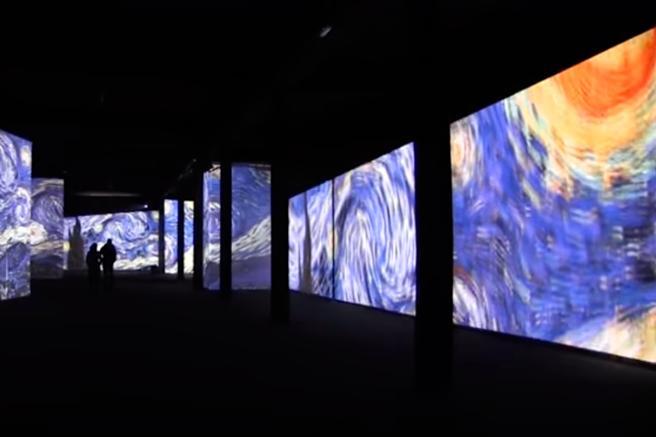 Exposicion en Sevilla 'Van Gogh Alive: The Experience'