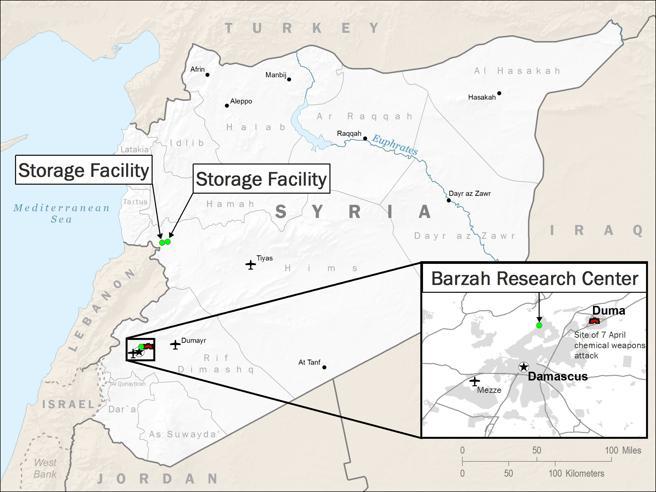 Infografía del ataque coordinado facilitada por el Departamento de Seguridad estadounidense