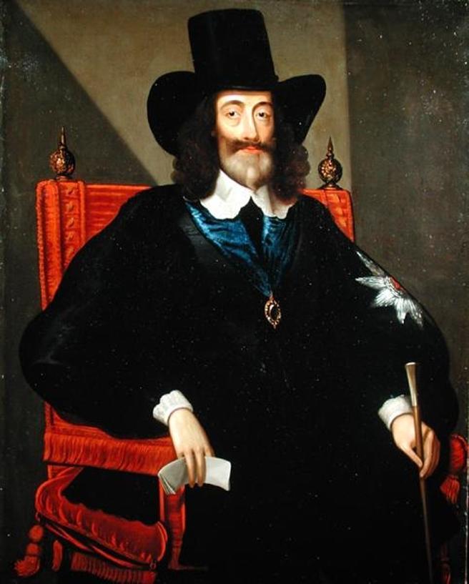 El rey Carlos I