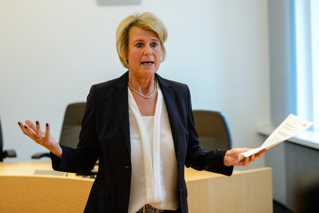 La jueza y portavoz del Tribunal Regional Superior, Frauke Holmer