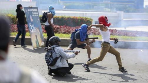 Al menos 10 muertos en las protestas contra la reforma de la seguridad social en Nicaragua