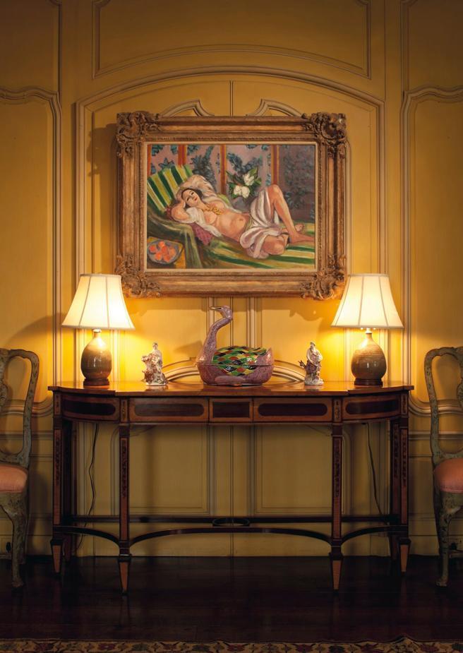 'Odalisque couchée aux magnolias', de Matisse