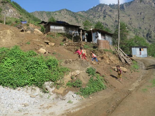 Yarmasing, uno de los pueblos de Nepal devastados por el terremoto del 2015