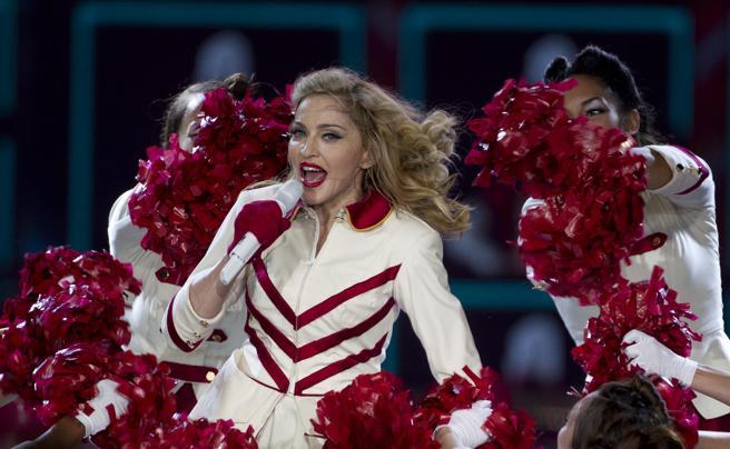 Concierto de Madonna en el Palau Sant Jordi en 2012