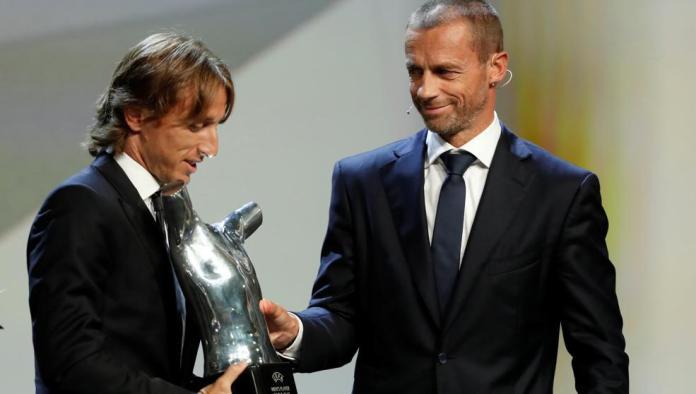 Modric, mejor jugador del año de la UEFA en una nueva gala de homenaje al Madrid