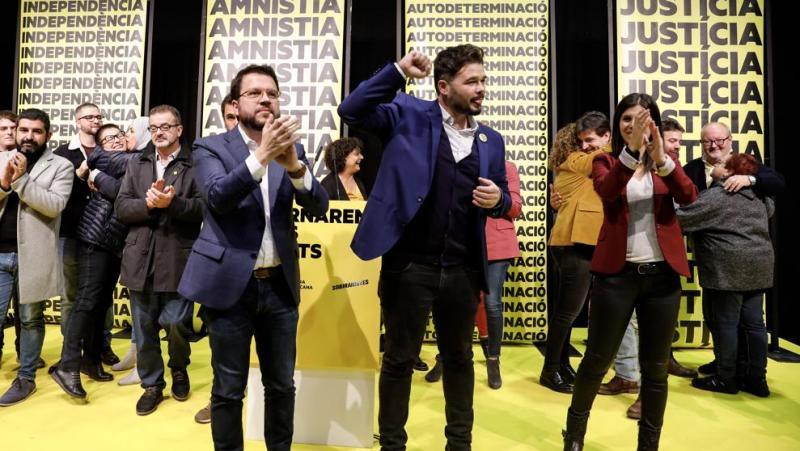 ERC pierde fuelle pero se siente decisiva para una investidura de Sánchez