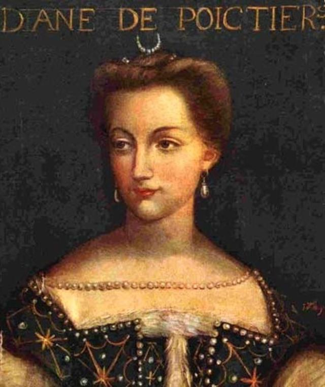 Retrato de la noble francesa Diane de Poitiers