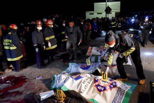 Resultado de imagen para muertos en guatemala por atropello