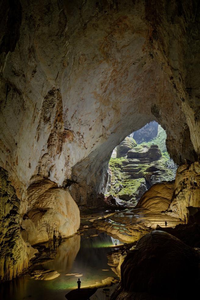 La cueva de Son Doong, la más grande del mundo, en el centro de Vietnam