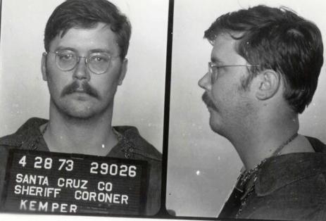 Ficha policial de Ed Kemper tras ser detenido