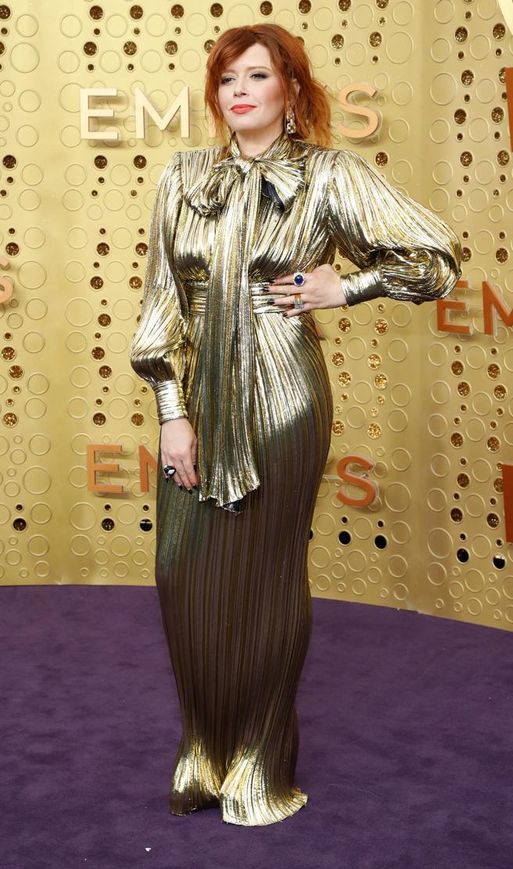 Natasha Lyonne en la alfombra roja de los premios Emmy 2019.. REUTERS/Mario Anzuoni