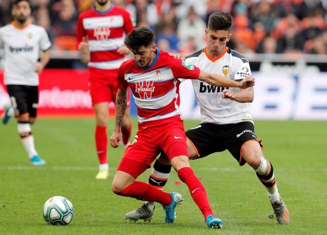 Valencia midfielder Ferrán Torres was the author of the second Valencian goal