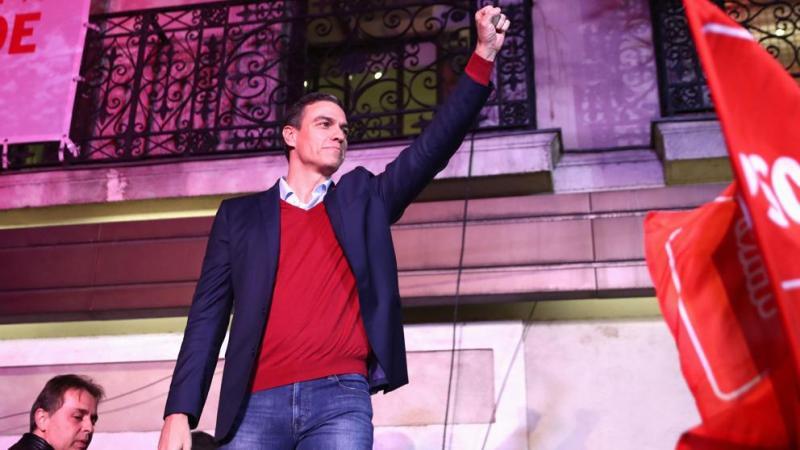 El PSOE gana las elecciones pero persiste la amenaza del bloqueo