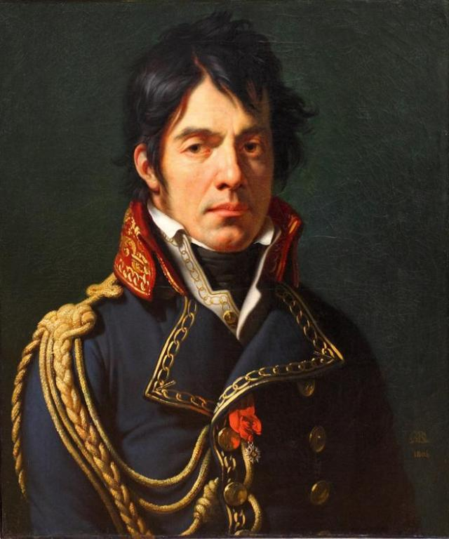 Retrato de Dominique Jean Larrey (1766-1842), expuesto en el museo del Louvre
