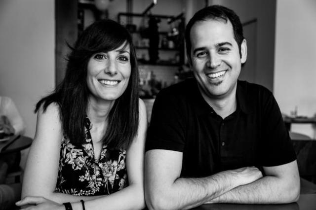 Ana Pedroche y Fran de Vicente, fundadores de una agencia de marketing.