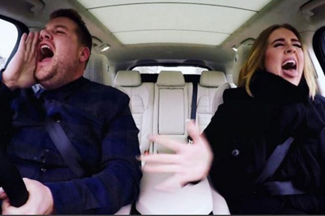Adele in the Carpool Karaoke