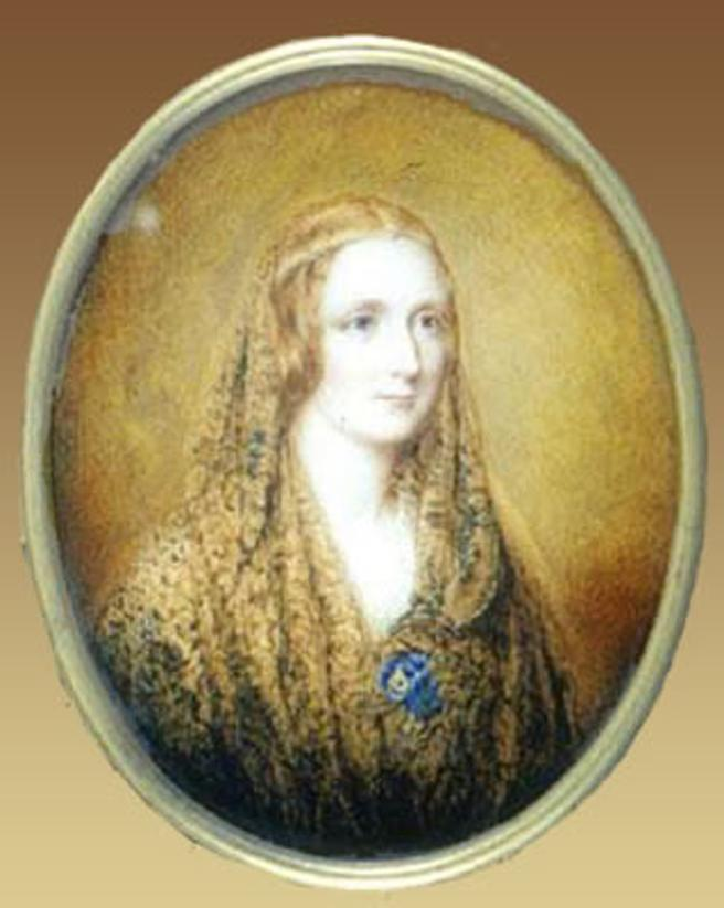 Mary Shelley, por Reginald Easton / Wikimedia Commons (WC)