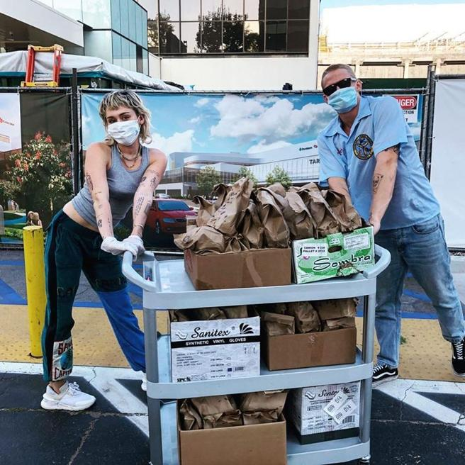 Miley Cyrus and Cody Simpson are dealt studs between the health personnel
