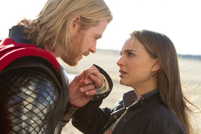 Natalie Portman in a scene from Thor