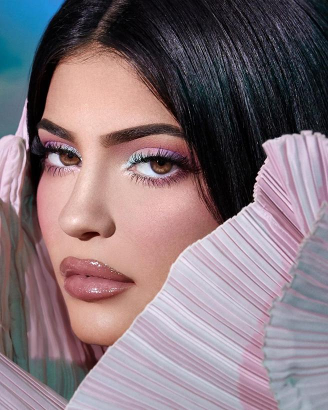 Kylie Jenner makeup products Kylie x Balmain