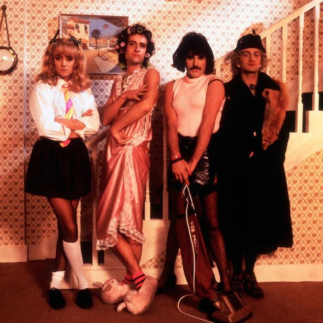 The band Queen is the most-listened to of the story.