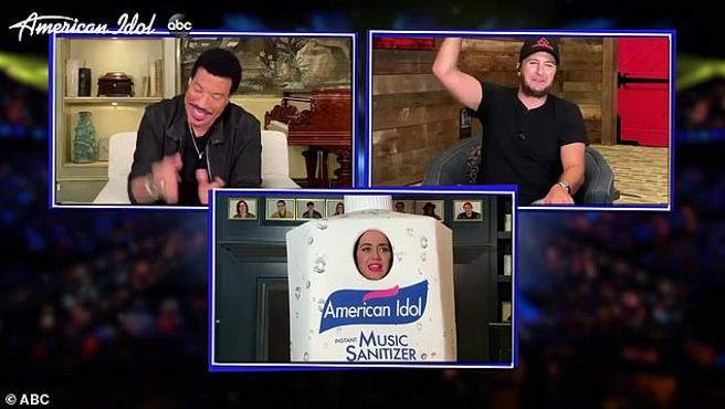 Lionel Richie, Luke Bryan and Katy Perry for 'American Idol'
