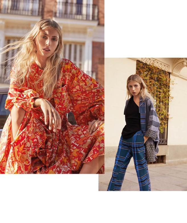 Garments of Llamazares and Delgado, versatile as pajamas or outer garment