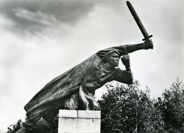Monumento en Berlín a los brigadistas alemanes (© Cedobi)
