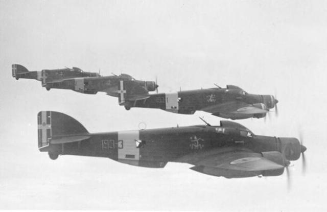 Aviones italianos Savoia-Marchetti SM.79.
