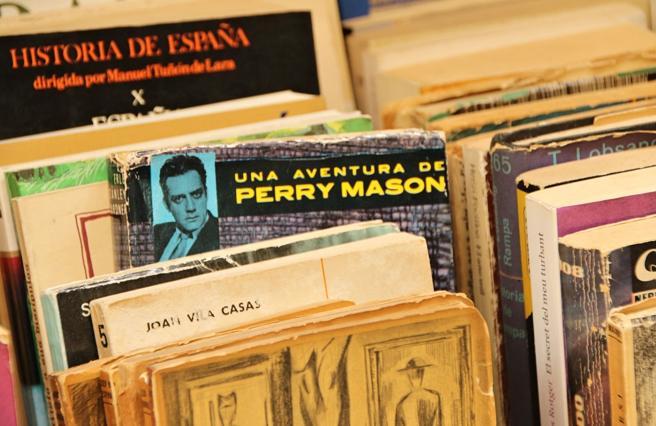Books exhibited in Sant Jordi.