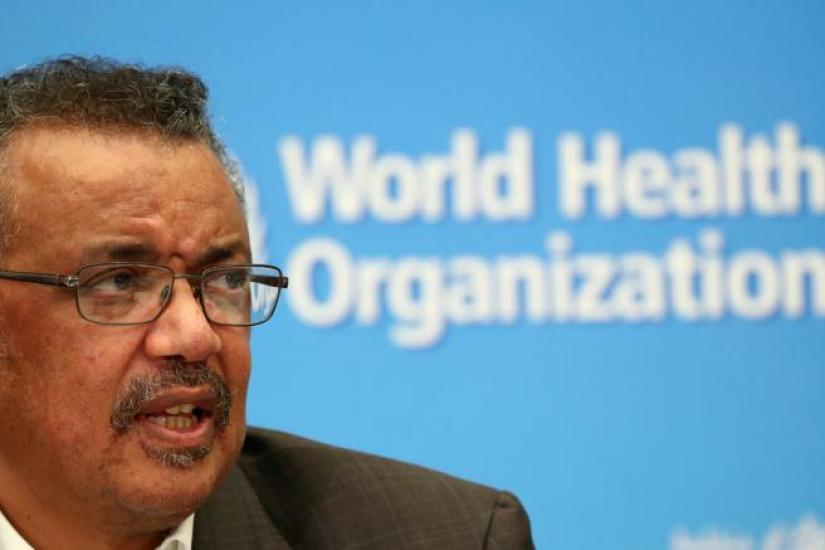 El director general de la OMS, Tedros Adhanom, en una imagen de archivo