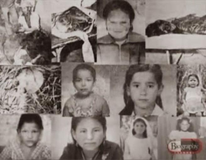 Algunas de las víctimas de Pedro Alonso López