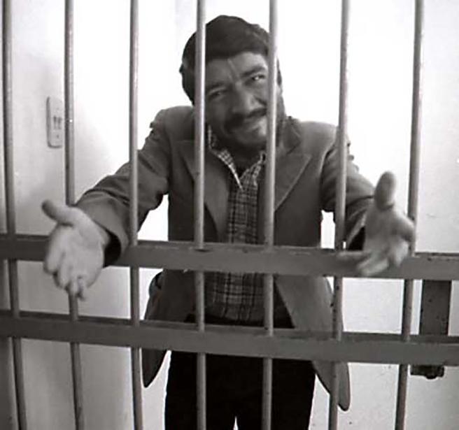 Pedro Alonso López, una vez detenido