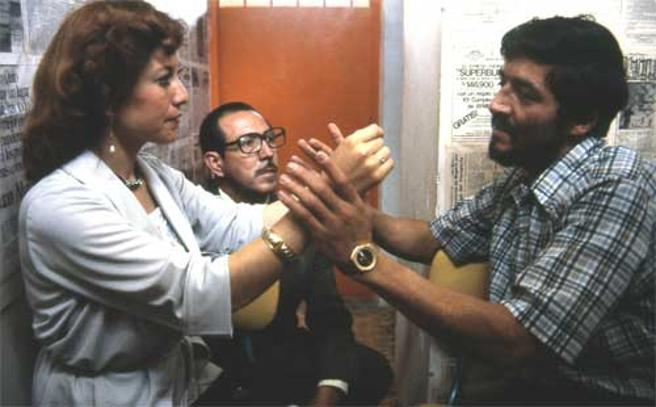 Pedro Alonso López, durante una entrevista
