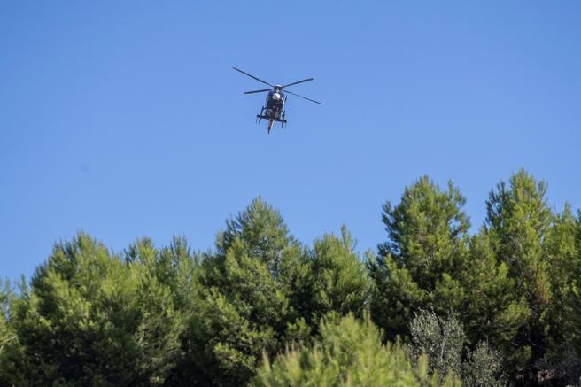 Los trabajos para la localización de la joven también se hicieron desde el aire